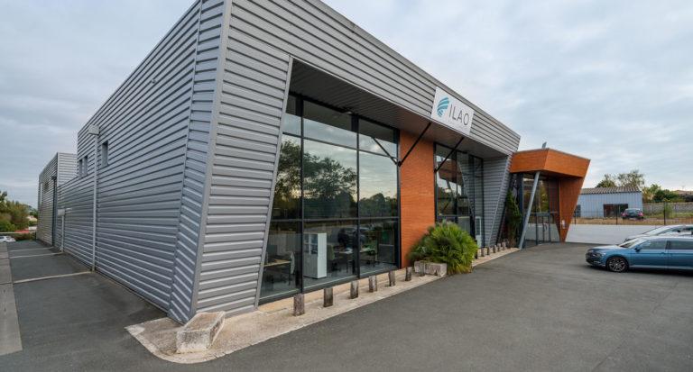Ilao - façade extérieure - bureaux à La Rochelle