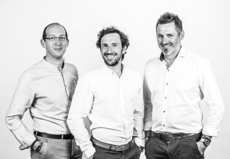 Les 3 dirigeants de Ilao - Franck Orionot - Baptiste Balzeau - Bruno Verron